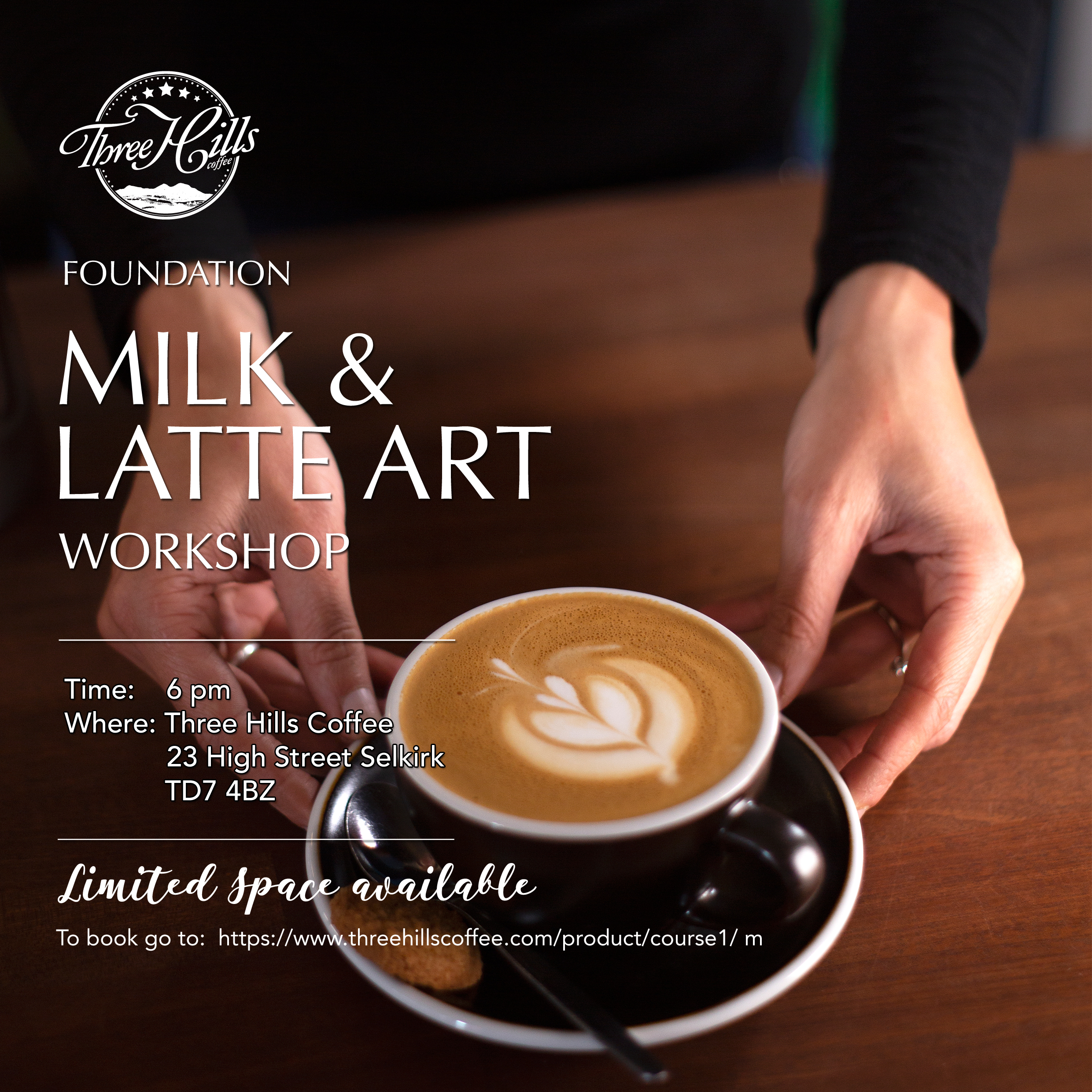 Latte art workshop 5 Dec